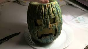 Minecraft Creeper Pumpkin Stencils by How To Make A Minecraft Creeper Pumpkin Jack O U0027 Lantern Youtube