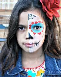 Easy Sugar Skull Day Of by Sugar Skull Makeup For Kids Pearmama