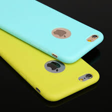 New Arrival case for iphone 6 Candy colors Soft TPU Silicon phone