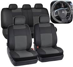 Cool Great Black & Gray Synthetic Leather Seat Covers For Car SUV ... Leather Seat Covers Upholstery 2006 Dodge Ram 2500 8lug Magazine Ford Truck By Clazzio Bestfh Car Suv Pu Cushion Rear Bench Truck Seat Covers Lvo Fh4 Burgundyblack Eco Leather Front Bucket Black Man Tgx Tgs Redtoffee Fh Group Highback Textured For Sedan Van 5 Full Set Truck Leather Seat Covers Truckleather Luxury Supports Cover Microfiber