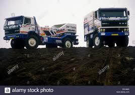 100 Rally Trucks 1986 DAF 3600 Turbo Twin And DAF 3300 Turbo 4x4 Paris Dakar