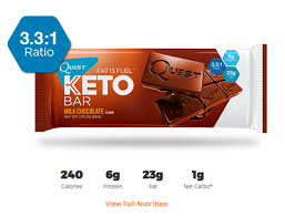 This Is For When You Straight Up Want To Eat A Damn Chocolate Bar And Dont Care Who Knows It The Quest Keto Has 331 Ratio Of Fat