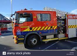 100 Rescue Truck CHRISTCHURCH NEW ZEALAND APRIL 20 2018 A Fire Rescue Truck