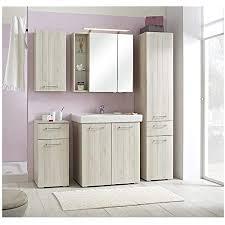 pelipal mare 11 badmöbel set 80 cm 6 teilig badset stehend mit spiegelschrank keramik waschtisch usw landhausstil in pinie ida hell eek