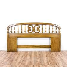Spindle Headboard And Footboard by This King Sized Headboard Is Featured In A Solid Wood With A