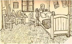 Behind the Paint The bedroom at Arles Van Gogh