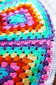 Crochet Granny Square Tree Skirt Decorated Christmas Michaels Dream Challenge