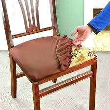 Seat Cover For Dining Room Chairs Chair Covers Enchanting Elasticated With Ties R Canada