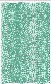 abakuhaus duschvorhang badezimmer deko set aus stoff mit haken breite 120 cm höhe 180 cm shabby chic retro spitze muster kaufen otto