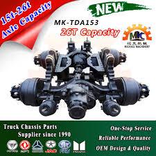 100 Truck Axles 153 6x6 Heavy Tandem MiddleRear Drive Purchasing
