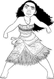 Coloriage Vaiana A Imprimer Kreslení Coloriage Coloriage Vaiana
