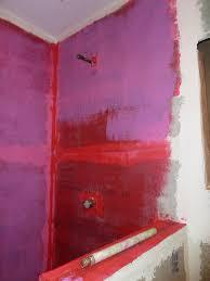 ideas tiling over redguard red guard moisture barrier