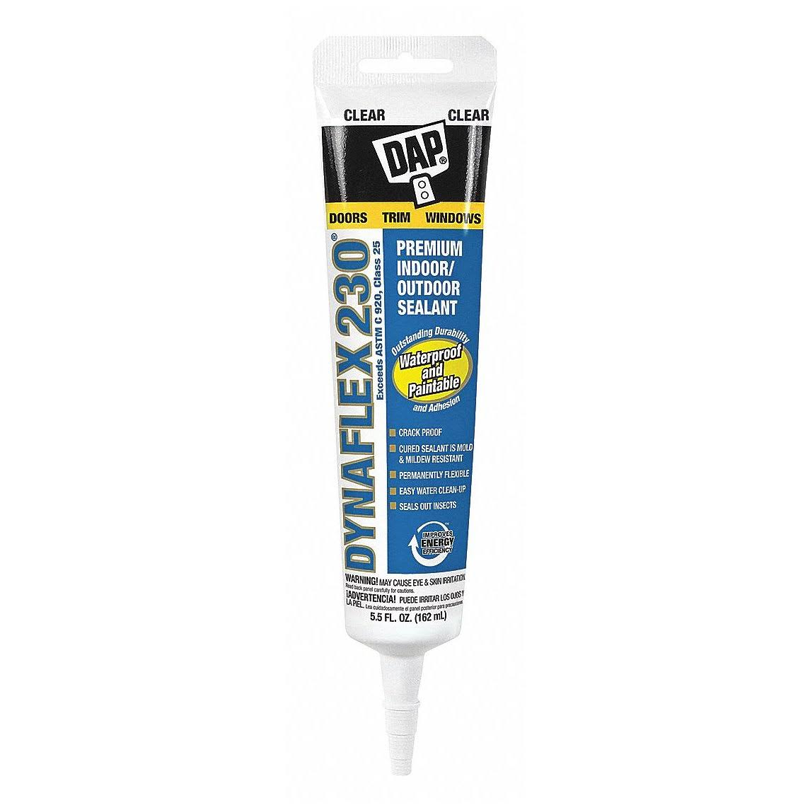 Dap Dynaflex 230 Premium Indoor Outdoor Sealant - 5.5oz