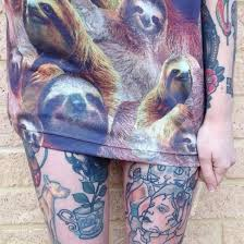 Sloth Animal Pattern Sweater Cute Hipster Tattoo Print Fashion Clothes Girly Girls Hbo Tumblr