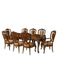 mandara 9 pc dining room set table 6 side chairs and 2 arm