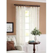 Sheer Curtains At Walmart by Semi Sheer Curtains At Walmart Curtain Blog