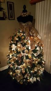 Type Of Christmas Tree Decorations by 279 Best Dress Form Christmas Trees Images On Pinterest Dress