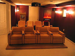 Awesome Basement Home Theater Cinema Room Ideas Small Theatre ... Basement Home Theater Dilemma Flatscreen Or Projector In Seating Theatre Build Pics On Mesmerizing Choosing A Room For Design Hgtv And Basement Home Theater 10 Best Systems Decorations Luxury Design Ideas Awesome Cinema Small 5 Unfinished Decoration Live Bar White Furry Rug Fabric Sofa Basics Diy Theaters Media Rooms Pictures Tips Interior