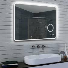 led beleuchtung kalt warm licht badezimmer spiegel