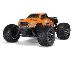 Arrma Granite 4X4 3S BLX 1/10 RTR Brushless Monster Truck (Orange ...