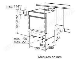 bosch smi53m86eu lave vaisselle integrable 60 cm bosch