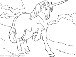 Pictures Of Unicorns To Color