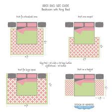 bedroom rug meaaurement size search villa