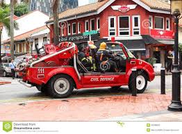 Singapore :Emergency Service Fire Truck Editorial Photography ...