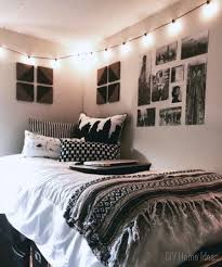 Cozy Tumblr Bedroom Ideas For Contemporary With White Wall Design