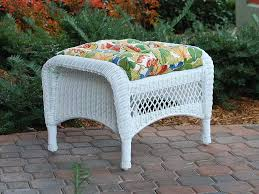 Patio Furniture With Hidden Ottoman by Furniture Wicker Armchair Wingback Wicker Chair Wicker Ottoman