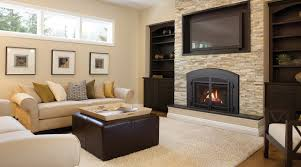 Regency Liberty L390 gas fireplace insert Contemporary Family