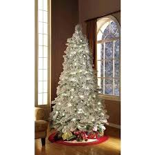 Holiday Time Lit Flocked Artificial Trees With Clear Lights Replacement For Prelit Christmas Buy Pre Tree