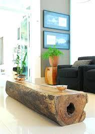 deco tronc d arbre des bûches dans votre décoration
