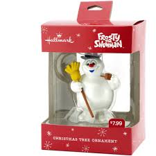 Frosty The Snowman Christmas Tree Ornaments by Hallmark Frosty The Snowman Christmas Ornament Walmart Com