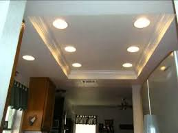Acoustic Removal Experts Before And After Recessed Lighting