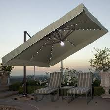 Offset Patio Umbrella W Mosquito Netting by Square Offset Patio Umbrella Gccourt House