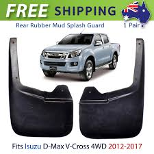 Rear Mud Flaps Splash Guard Fits Isuzu D-Max V-Cross 4Dr 4WD Truck ... Truck Specialties Traffic Qa Arent Suvs And Pickups Supposed To Be Equipped With Mudflaps Simpson Toolbox Mud Fpssplash Guards For Trucks Factory Wheel Steps Truck Hdware Gatorback Chevy Flaps Sharptruckcom My Buddy Got Pulled Over In Montana Not Having Mudflaps So We Minimizer Semi Fast Flaps Dodge Diesel Resource Forums For Lifted And 24 X 30 Candocowgirl Dsi Automotive Black Bowtie Cr Raptor