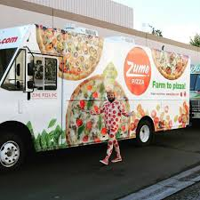 100 Pizza Truck This Robot Pizza Truck Can Bake 120 Pizzas While Its Driving