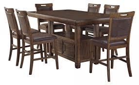 Royard Pub Table & 6 Stools