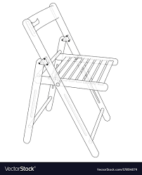 100 Folding Chair Art Chair Sketch Royalty Free Vector Image