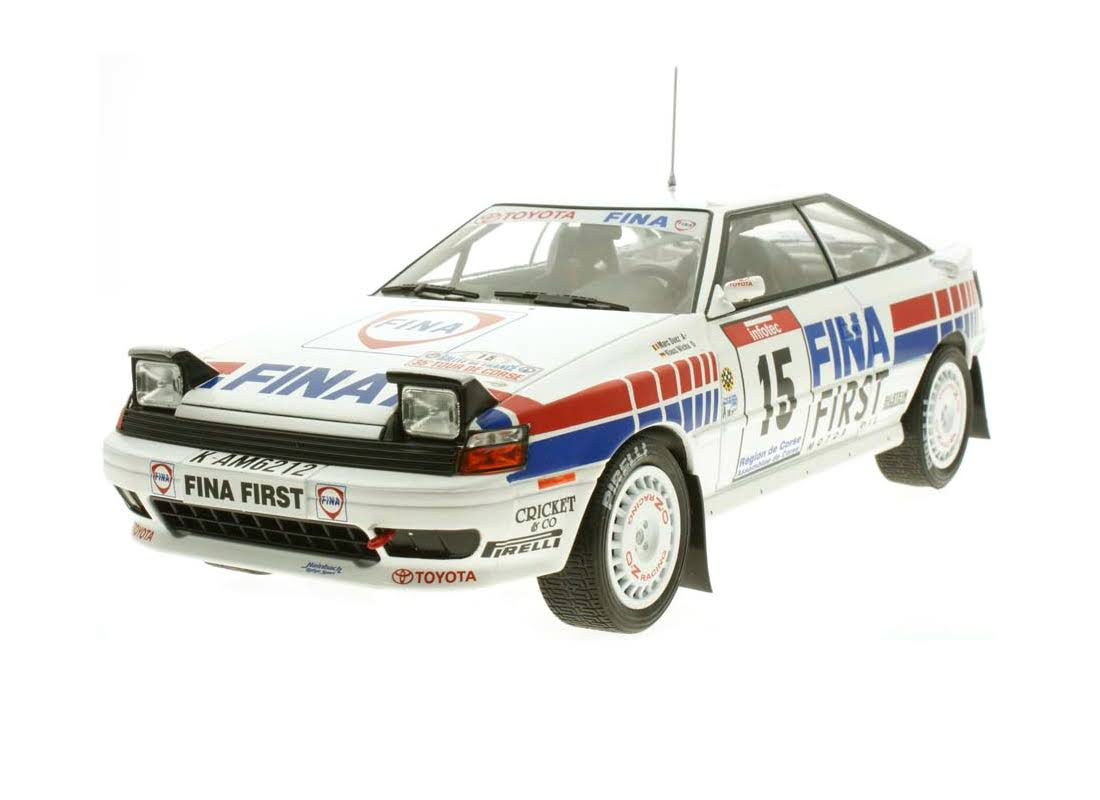 Toyota Celica #15 Tour De Corse 1991 | 1:18 Diecast Model Car