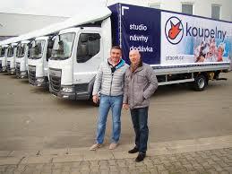 100 Truck Trade Vozidla DAF Obohacuj Flotilu Spolenosti PTEK Velkoobchod As