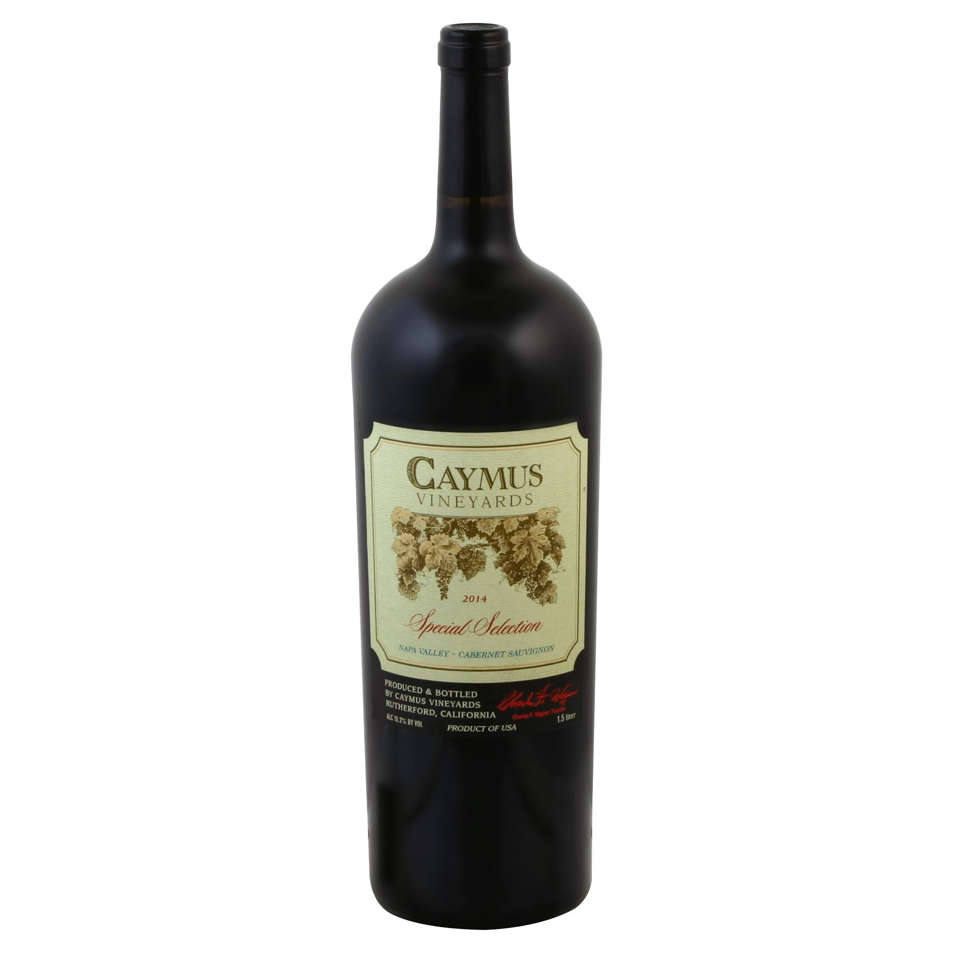 Caymus Vineyards Special Selection Wine, Cabernet Sauvignon - 1.50 l bottle