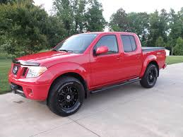 100 Pick Up Truck Rims Red Frontier Pro 4X With Black Rims New Truck Ideas Nissan
