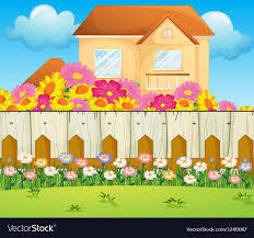 100 Blooming House A House With Blooming Flowers