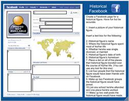 Farcebook Template Historical Facebook For Dead People Google Doc