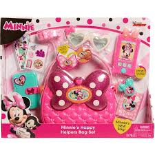 Disney Jr Bathroom Sets by Disney Junior Minnie U0027s Happy Helpers Bag Set Walmart Com