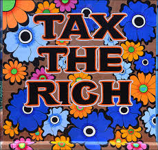 Clarion Alley Mural Project Address by Tax The Rich Capitalism Is Over If You Want It