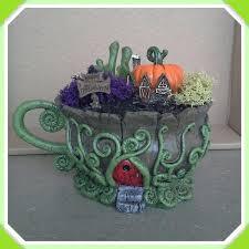 Fall Teacup Fairy Garden
