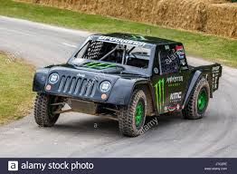 Monster Energy Stadium Truck At The 2017 Goodwood Festival Of Speed ...